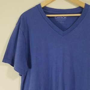 Carbon v-neck t shirt size XL